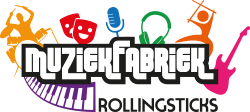 Muziekfabriek Rollingsticks Logo