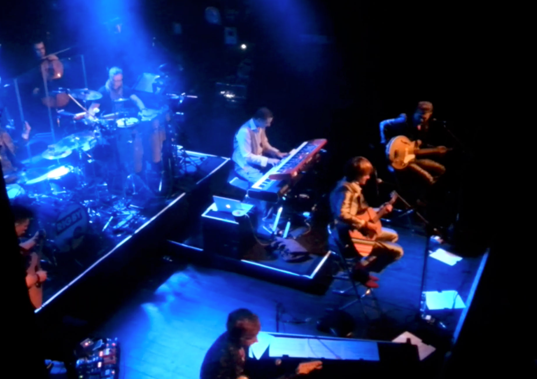 Rock band, zangles Gouda, Gitaarles Gouda, Drumles Gouda, Pianoles Gouda